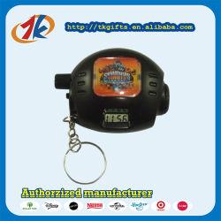 Heißer Verkaufs-Plastikprojektor-Uhr Keychain Spielwaren