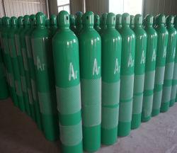 Высокое давление аргона 99,999% с 40L газового баллона