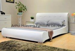 Современный дизайн Forniture мягкая двуспальная кровать с одной спальней PU