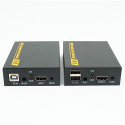 120m HDMI extensor KVM USB por um único cabo UTP