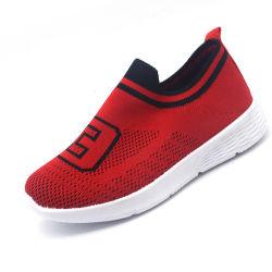 Enfants Les enfants de chaussures occasionnel de nouvelle conception de chaussures d'injection en stock