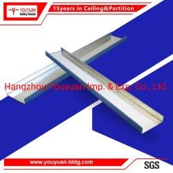 """Sospensione d'acciaio della chiglia dell'indicatore luminoso della barra della scanalatura a """"u"""" del soffitto"""