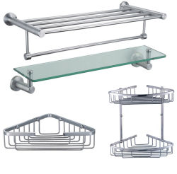 304 de Plank van de Hoek van het Glas van de Handdoek van de Badkamers van het roestvrij staal