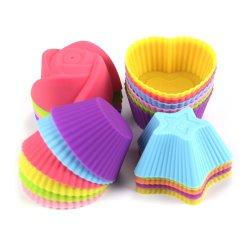 FDA/LFGB ha approvato le muffe libere della torta della tazza della torta della focaccina del silicone di BPA