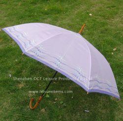 Economische Auto Open Paraplu voor Dame in Purple (oct-JH010)