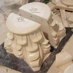 Spalte-Pfosten-korinthische Architektur-Dekor-Skulptur