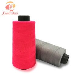 Garen van de Polyester van de Draad van de Fabrikant van de lage Prijs het Textiel met Goede Kwaliteit
