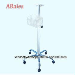 Alliage de fer rouler le banc chariot pour moniteur patient Mindray Mec1000/2000/H8/107000/8000/IPM