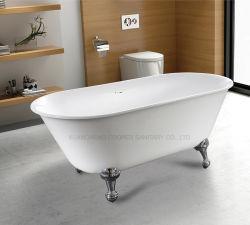 Сцепную ноги в ванной комнате портативный ванна для взрослых отдельно стоящая ванна акрилового волокна (C-6003)