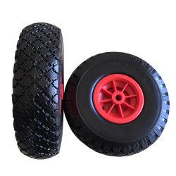 10インチはタイヤチューブレスPUの泡の車輪3.00-4を薄くする