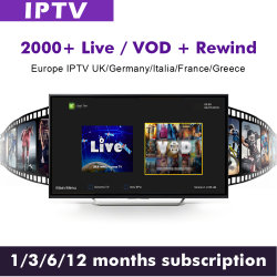 12mois UK Club Austrailia arabe IPTV IPTV de l'Irlande USA IPTV ne fournissent pas de frais mensuels Live TV