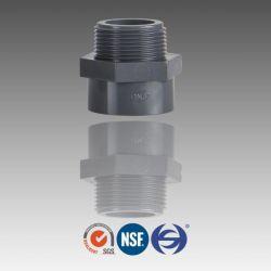Dn15 Dn20 Dn25 Pn16 PVC мужской переходник трубный фитинг