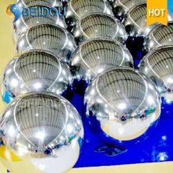 Mini ballon de miroir décoratifs en PVC gonflable Disco boule miroir