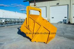 Grua de alta qualidade Auto Dumping Bin, recipiente de resíduos de construção com muitos revestimento de cor