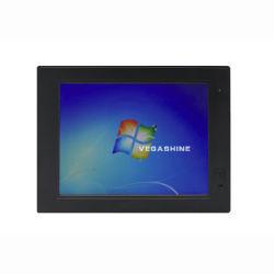 10.4인치 터치스크린 팬리스 IP65 산업용 패널 컴퓨터 Atom N2600 올인원 PC