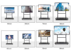 4K Whiteboard Gigante painel interativo para whiteboard universitário
