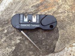 Mini portable multifonction Pocket Tige conique escamotable Diamond affûteur de couteaux