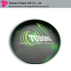 Пластиковый PS круглые прутки поднос с поверхности скольжения