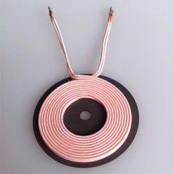 precio de fábrica China cargador inalámbrico una bobina de carga de Qi5 con disco de hoja de ferrita