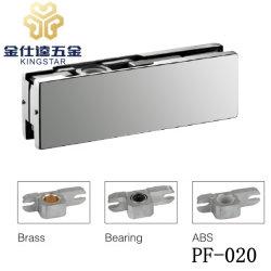 PF-020 Frameless porte en verre clip de fermeture de porte en acier inoxydable patch accessoire matériel de montage
