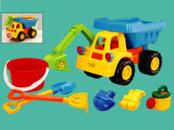 Piscina de verão praia de areia de brinquedo carro (H8807031)