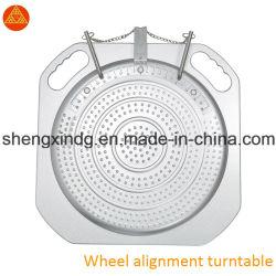 바퀴 밸런스 바퀴 동기기 Wb011를 위한 4 4 점 바퀴 밸런스 바퀴 동기기 회전하는 자전 기계적인 3D 턴테이블 Turnplate