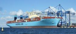 Het Oceaan Verschepen van Maersk van Qingdao aan Aarhus/Kopenhagen