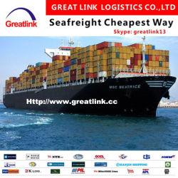 Cheapest mer professionnels de la logistique du fret en provenance de Chine vers les USA (ouest /côte est)