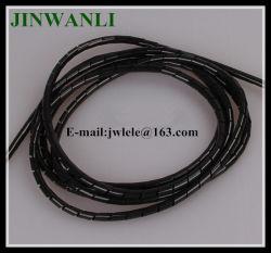 Spirale noire avec bande CE Cetificate d'enrubannage