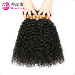 Больших запасов природных Kinky фигурные 10A Реми Virgin филиппинских волос человека