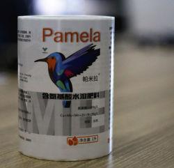 Adhésif en vinyle papier en plastique PP PE Bouteille PET BOPP cosmétique Jar