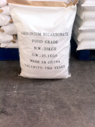 Haute qualité bicarbonate d'Ammonium Food Grade/bicarbonate d'ammonium