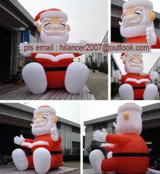 Guter Preis aufblasbare Sankt, aufblasbarer Weihnachtsmann der neuen Qualitäts-2019