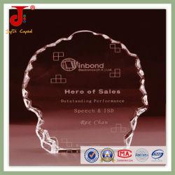 Moda 2016 K9 de cristal en blanco para 3D Laser grabado (JD-CB-301)