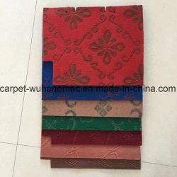 짠것이 아닌 바늘 펀치 벨루어 실내 옥외 를 사용하는 다른 디자인 두 배 자카드 직물 양탄자