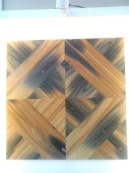 Mosaico de madera, incluso material de Decoración de pared interior del panel de pared