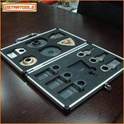 Kit de herramientas de alimentación múltiple 13pcs Kit de hoja de sierra oscilante