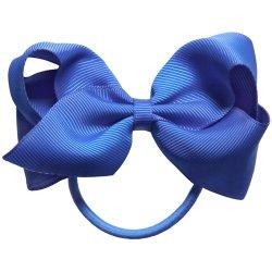 Arco de cabelo fita popular com clipes para meninas
