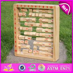 2015 교육용 토이 큰 번호 목재 아타쿠스, 번호가 있는 싸구려 어린이 장난감 아타쿠스, 조기 학습용 나무 어린이 아타쿠스 W12c006