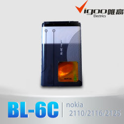 Nokia Bl-6c용 OEM 전화 배터리 저가 모바일 배터리
