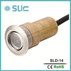 1.2W Brass Recessed Underground LED Light, LED-Garten Lights (SLD-14)
