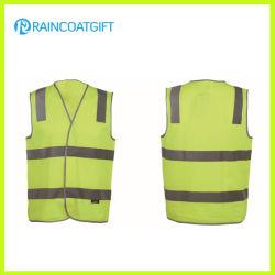 Vest van de Veiligheid van de Mensen van de fluorescentie 100% Breiend