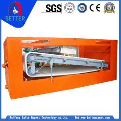 ISO/Ce de Goedgekeurde Separator van het Ijzer van Btpb 900X1200 vlak Permanente Magnetische voor de Macht/het Kwarts/het Veldspaat van het Mica