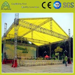 Rendimiento de la iluminación de la armadura de la Feria Exposición gran evento de la armadura de techo