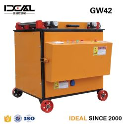 Gw42 Barre d'acier 6-42mm plieuse automatique machine Rebar Bender