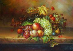 Fruta clásico hechas a mano pinturas al óleo de taller del artista