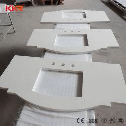 アクリル樹脂の固体表面の磨かれた具体的なカウンタートップ
