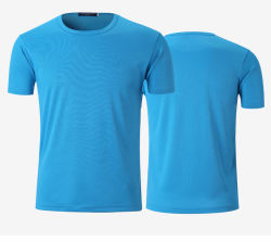 Kundenspezifisches Sublimation-T-Shirt, unbelegtes kundenspezifisches Firmenzeichen-Drucken-T-Shirt als fördernde Geschenke