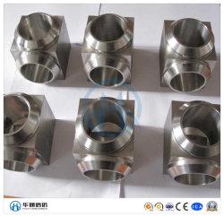 Carbono forjado de alta presión/Acero Inoxidable toma soldada/soldadura accesorios de tubería
