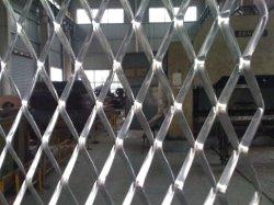 건축 철 철망사 직류 전기를 통한 완료 (ISO9001)에 있는 확장된 금속 메시